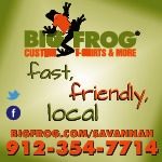 Big Frog customized t-shirts in Savannah 