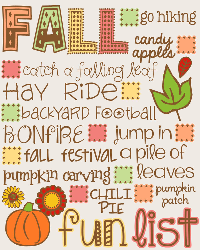 What to do in the autumn Interesting activities