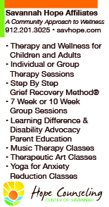 Therapy for children, adults in Savannah