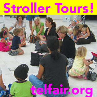 Mommy and me activities Savannah Stroller Art Tours