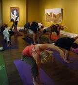yoga-in-museum
