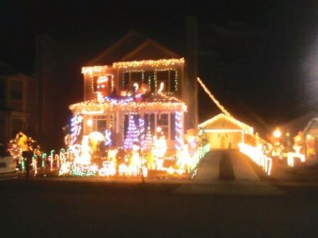 Pooler Christmas House