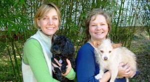 Stacy and Michelle run Spoiled Rotten Pet Care Services in Savannah