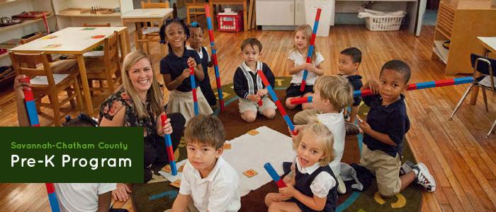 free pre-K programs 2017-18 Savannah public schools