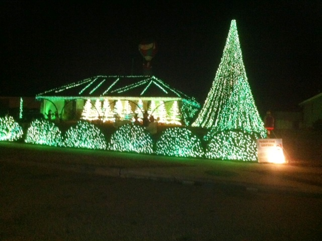 Southern Mamas » Blog Archive » Best holiday light displays/home ...