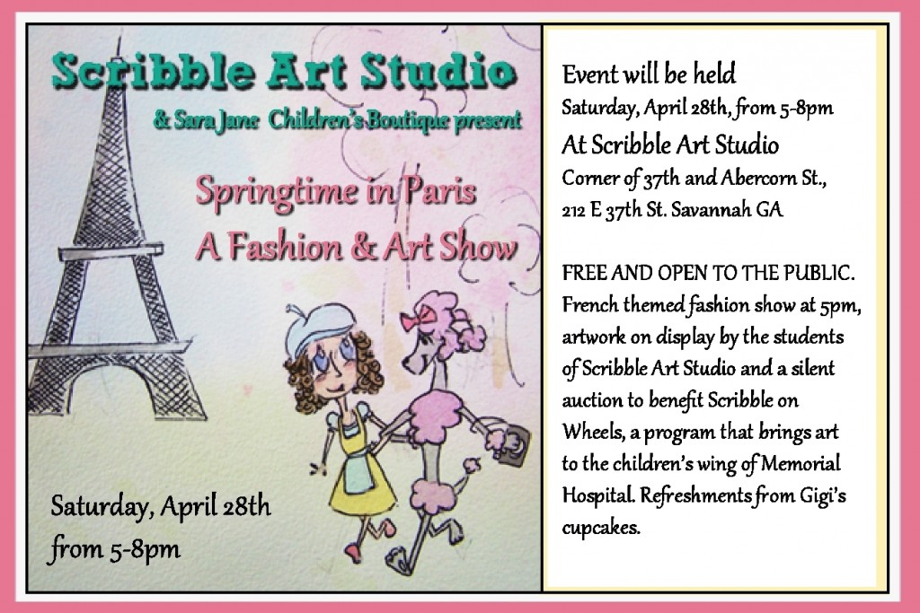 scribble fashion art april event southern mamas blog archive you're invited kids' art,You Re Invited Kids