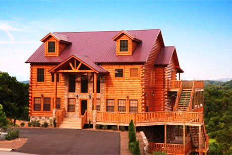cabins you deck tree covered tennessee htm for tops cabin gatlinburg