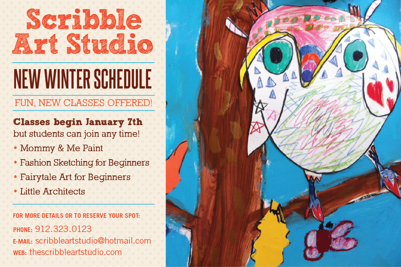 Scribble Drawing For Kids : Southern mamas archive winter art classes