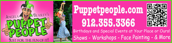 Puppet People Savannah Children's Birthdays