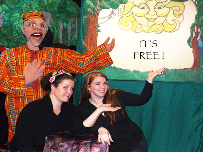 Puppet People free Feb. shows