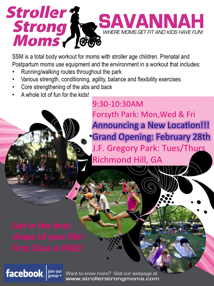Stroller Strong Moms Tues & Thurs classes in Richmond Hill