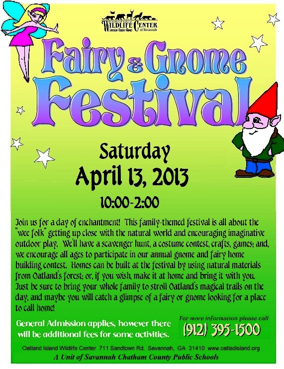 Fairy and Gnome Festival 2013 in Savannah