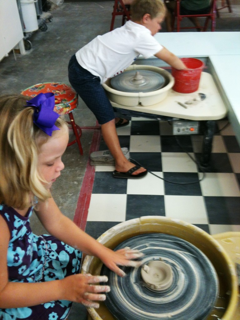 Summer 2013 Kids' Pottery Camp at Savannah's Clay Spot