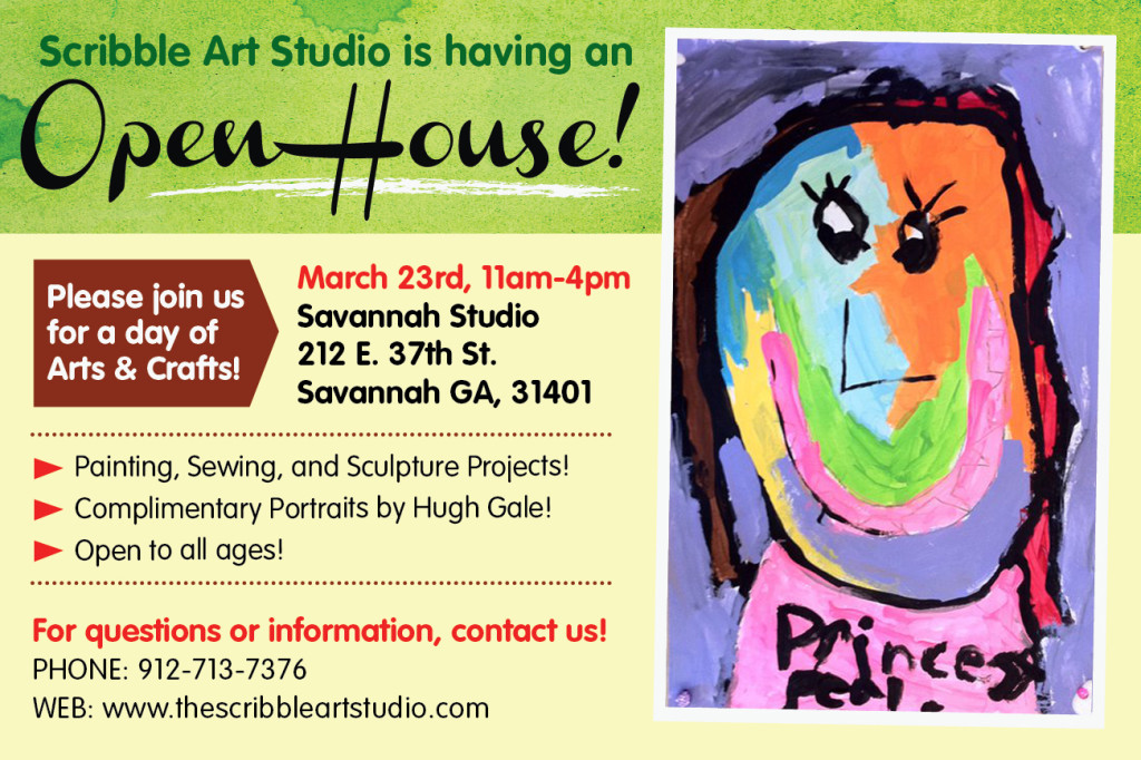 Scribble Art Studio Open House, Arts & Crafts