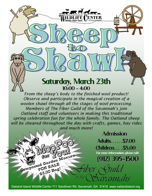 Sheep to Shawl Festival 2013 at Oatland Island Wildlife Center, Savannah