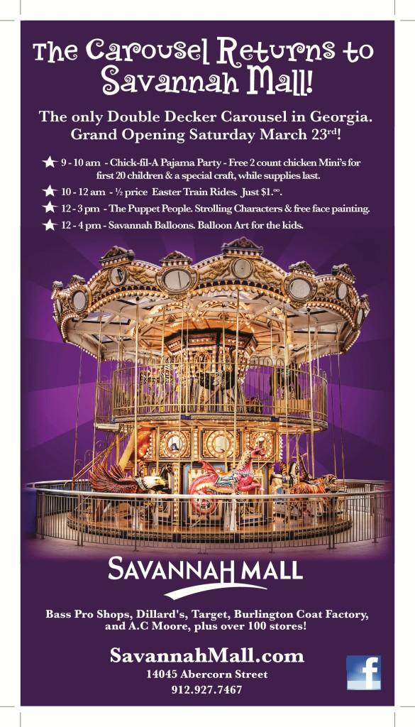 Savannah Mall Double Decker Carousel