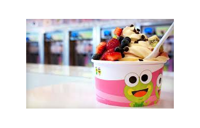 Saved by the deal 40% off Sweet Frog Frozen Yogurt 