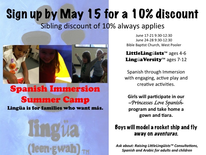 Spanish Summer Camps Savannah