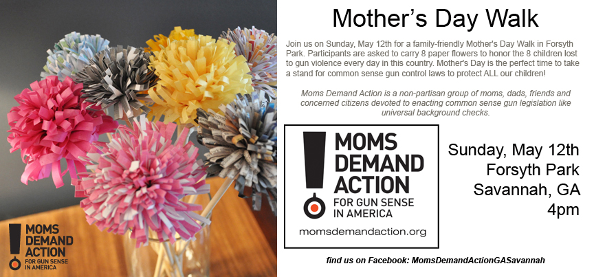 Savannah Moms Demand Action for Gun Sense