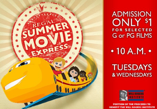$1 Kids' Movies summer 2013 Savannah Pooler