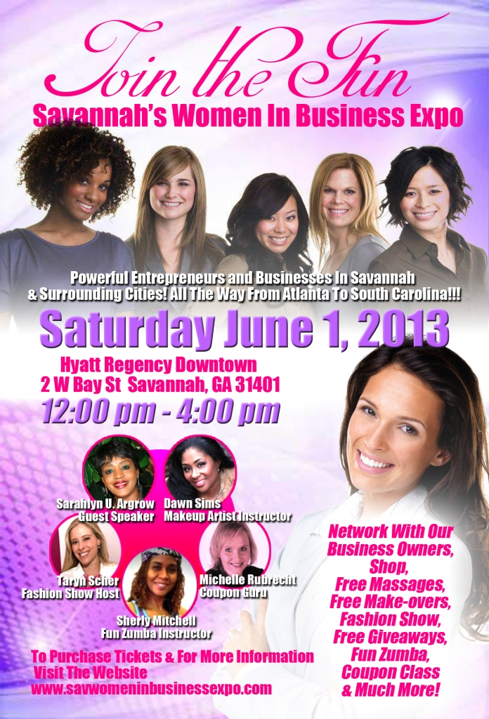 Free tickets to Savannah Women in Business Expo