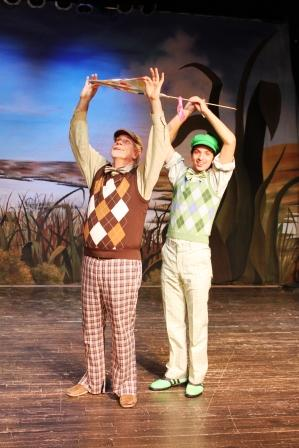 "Savannah Children's Theatre presents the musical ""A Year with Frog and Toad"""