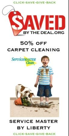 Savannah deal on carpet cleaning