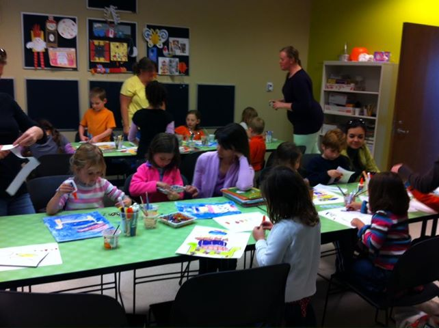 Free art class for kids savannah