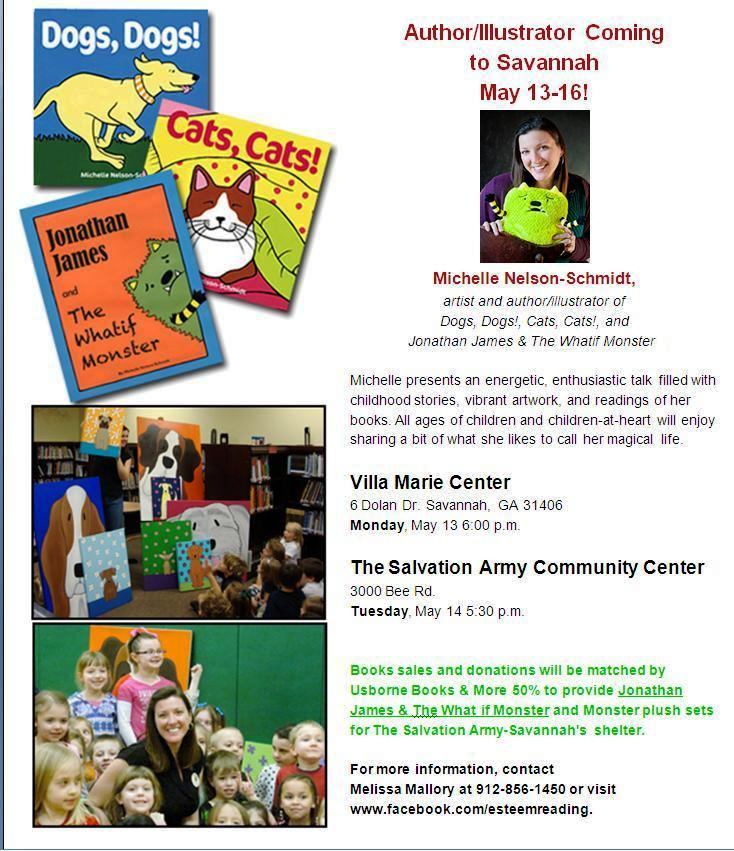 Children's author/illustrator visiting savannah may 2013