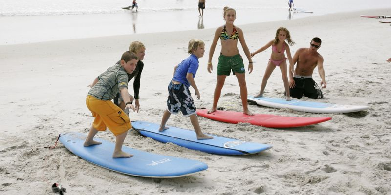 Water sports summer camps on Tybee Island