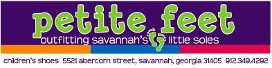 Petite Feet children's shoes in Savannah