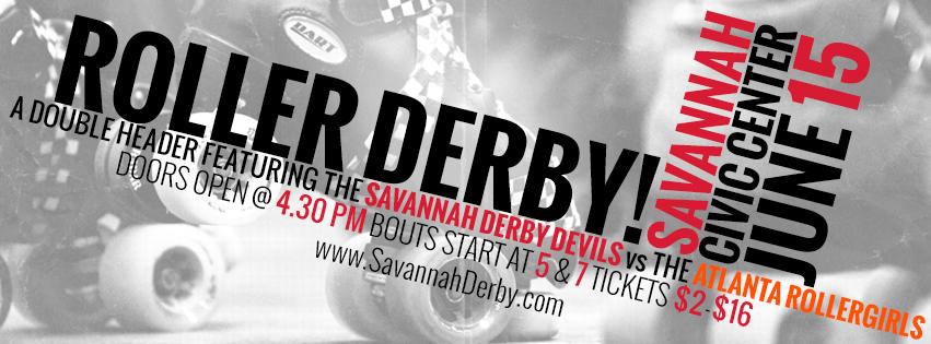 Savannah Derby Devils June 2013 bouts