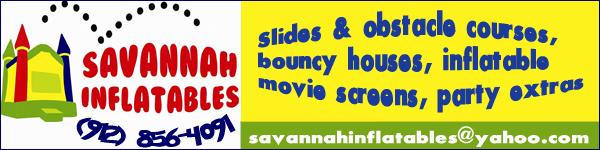 Savannah Inflatables Summer 2013 rentals