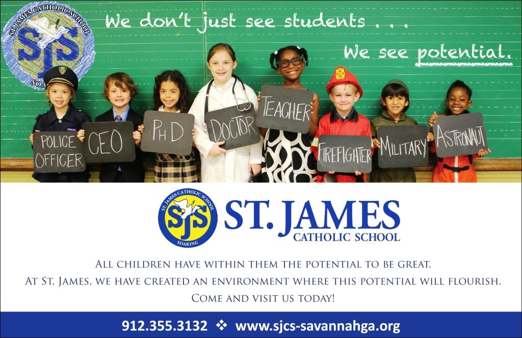 St. James Catholic School Savannah private schools