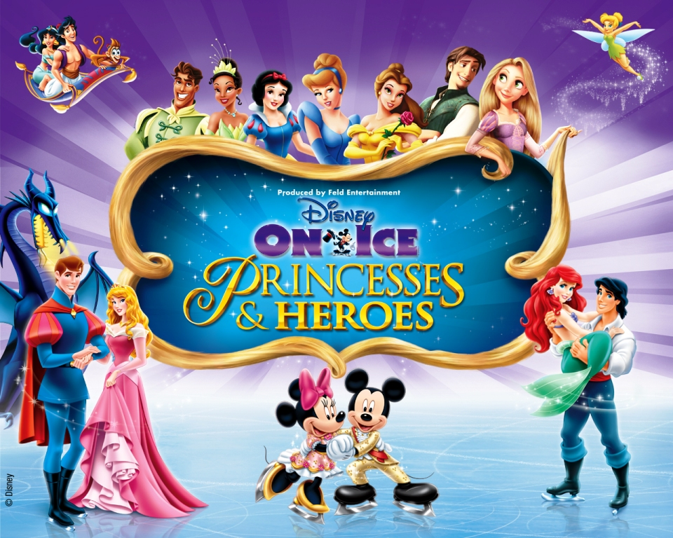 Disney on Ice Princesses & Heroes in Savannah 2013