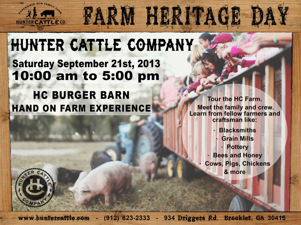 Hunter Cattle Farm Heritage Day Savannah Statesboro