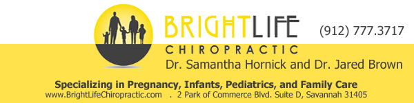Bright Life Chiropractic specializes in Pregnancy, Infants, Pediatrics, and Family Care In Savannah