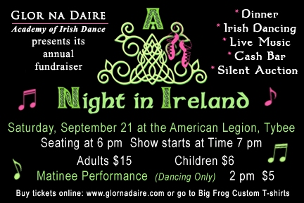 Glor na Daire Irish Dance Academy Savannah