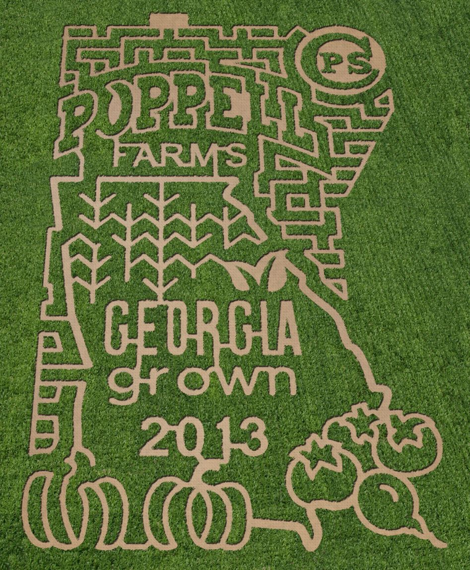 Corn Mazes near Savannah, Hilton Head Is