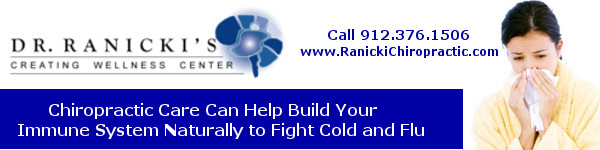 Flu and Cold Prevention with Chiropractic Care Savannah
