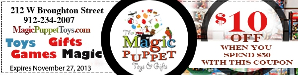Magic Puppet Toy Store Savannah
