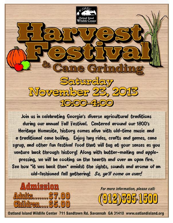 Oatland Island Harvest Festival 2013