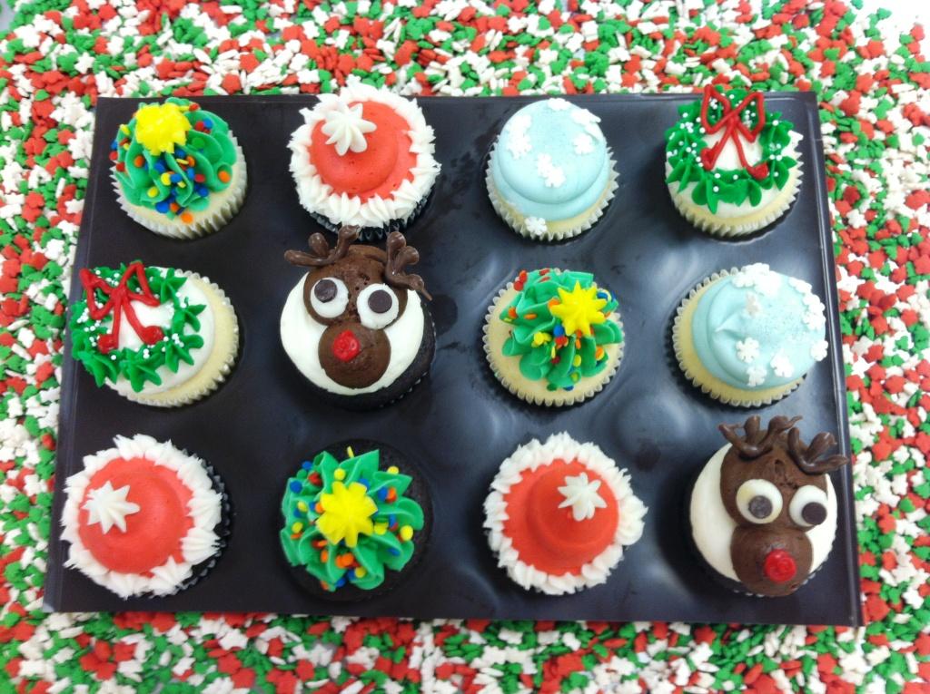 Gigi's Cupcakes Christmas Minis Savannah