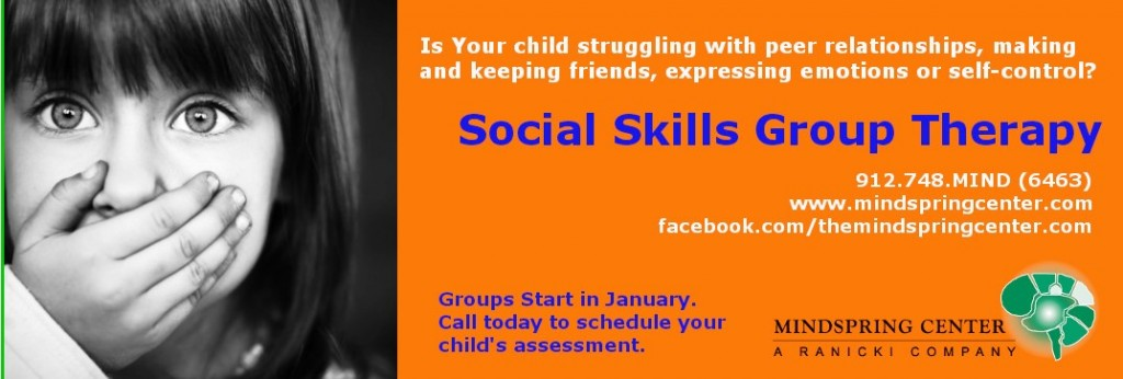 social skills group therapy autism savannah