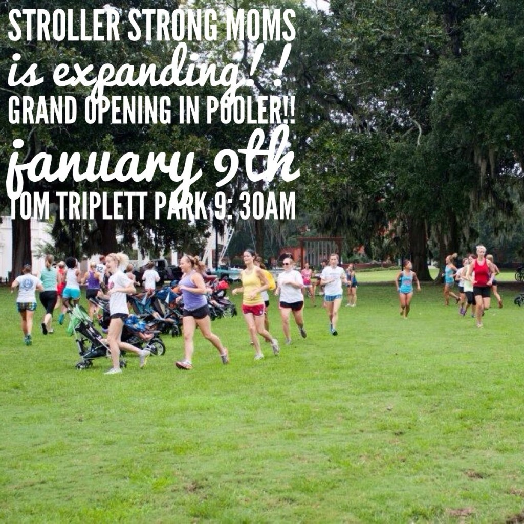 Stroller Strong Moms Pooler Grand Opening