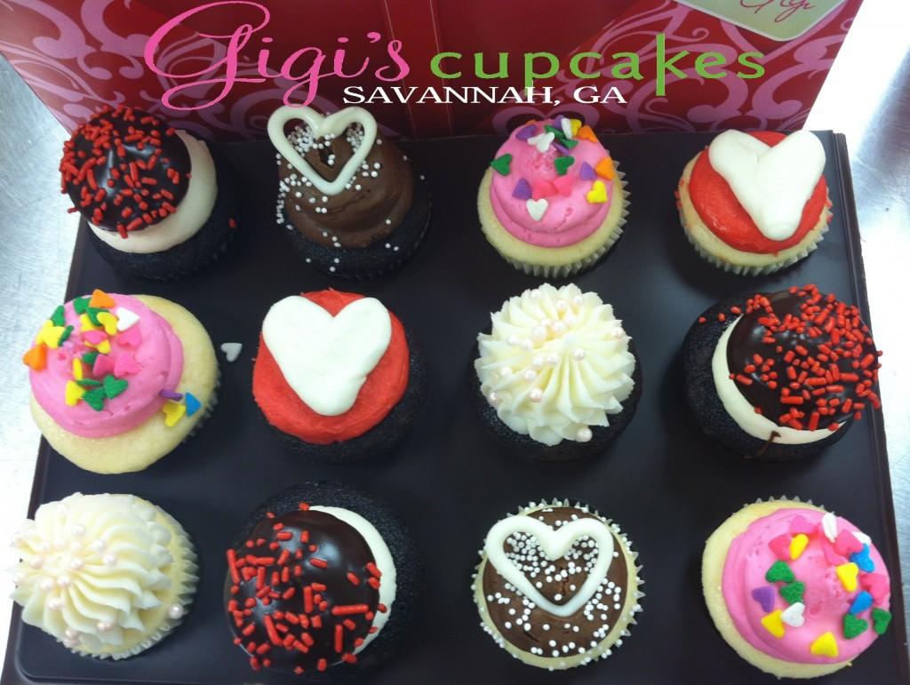 gigi's cupcakes valentines savannah