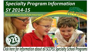 speciality program open houses at Savannah Chatham public schools for 2014-15