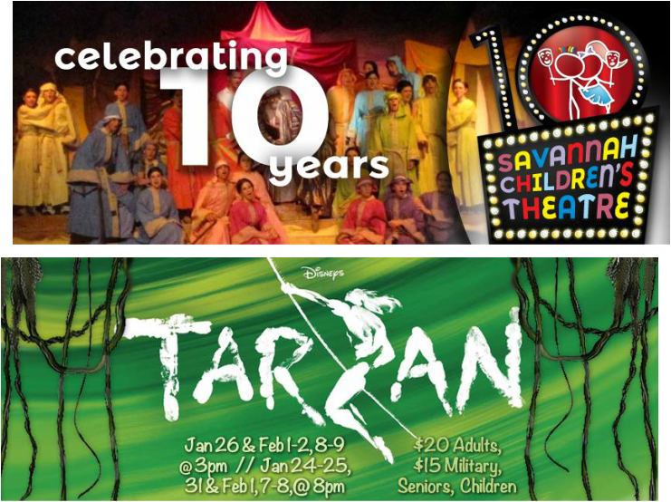 Tarzan Savannah Children's Theatre