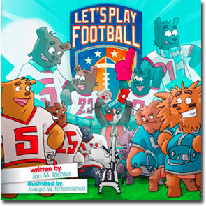 Let's Play Football book for children