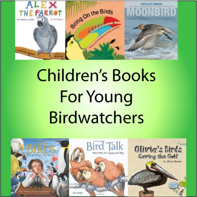 children's books for young bird watchers Great Backyard Bird Count Savannah